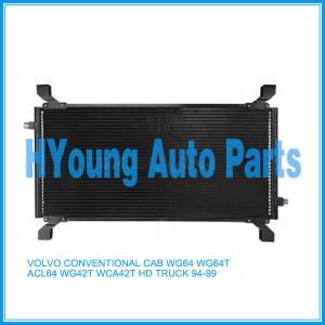 Auto air ac Condenser For VOLVO CONVENTIONAL CAB WG64 WG64T ACL64 WG42T WCA42T HD TRUCK 94-99 841859190050