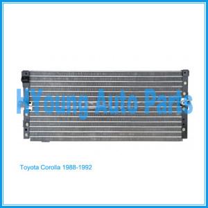 Auto air ac Condenser For Toyota Corolla 1988-1992 UPC 841859111307