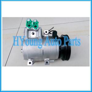 Factory direct sale auto parts a/c compressor HS15 for HYUNDAI GETZ 1.6 97701-1C250 97701-27000 97701-2D400