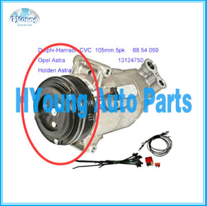 Auto air compressor clutch for Holden Astra Opel Astra 68 54 059 13124750 TSP0155449 CVC 105mm 5pk