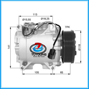 HS-110R ac compressor for Honda Accord Estate Wagon Euro VII (CL) 2003-2008 38800RAAA01 38810RBA006