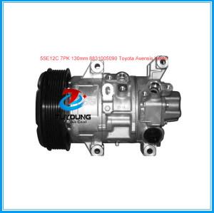 denso 5SE12 a/c compressor for Toyota Avensis Corolla Verso 2.0 2.4 2003- 8831005090 447180-5640 447260-1741