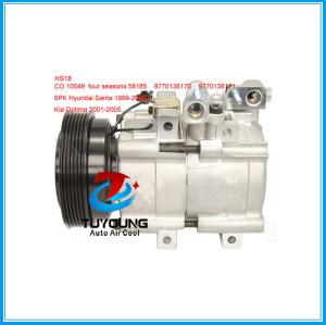 HS18 air con Compressor for Hyundai Sonata Kia Optima 9770138171 CO 10549X 9770138170