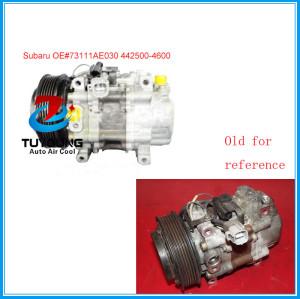 Denso TV14C Subaru Legacy Lancaster BНE B12 2003-2009 air conditioning compressor 73111AE030 442500-4600 447300-9090 DCP36005
