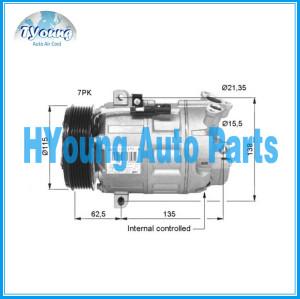 car ac compressor DCS17 for Renault Trafic II, Vivaro 2.0 DCI 06- Nissan Qashcai 2.0i 8200454172 926001DA0A 8FK351322541 510634