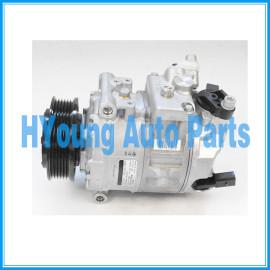 7SEU17C Car air conditioning compressor VW Amark Transporter T5 Bus 2.5 TDI 7E0820803 7E0820803F 7E0260803G 4471502613 4471502936 4471502930