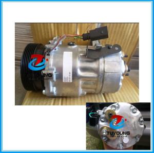 car air pump compressor SD7V16 for Volkswagen Bus 2008 7H0820803C 7H0820805L 7H0820803D 7H0820803B 7H0820803F Sanden 1251 1281 1239