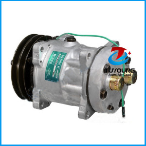 SD7H15 air conditioning compressor Sanden 7871 8036 7933 8098 ROT Horizontal 2G-132mm 24V