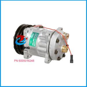 air conditioning compressor Sanden SD7H15 3550921M91 3538725M91 6005016248 85817170 ROT Hor 2G 132mm 12V