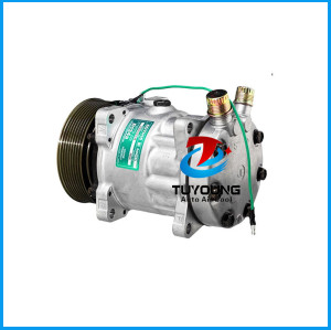 auto air conditioning compressor Sanden 8086 8240 SD7H15 24V 8G 120mm