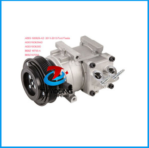 air conditioning compressor Ford Fiesta 11-2013 AE83-19D629-AD AE8319D629AD AE8319D629D BE8Z 19703-A BE8Z19703A
