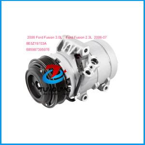 Car air conditioning AC compressor Ford Fusion 2.3L 3.0L 06-2007 8E5Z19703A 685987395976
