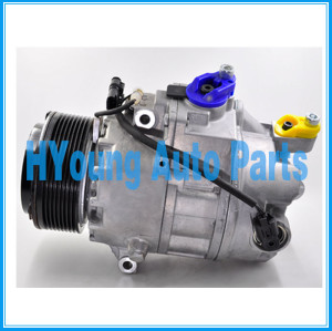 auto air conditioning compressor Calsonic CSE717 for BMW X6 3.5i 7 Series 2008- 64529205096 64529185147 64529195974