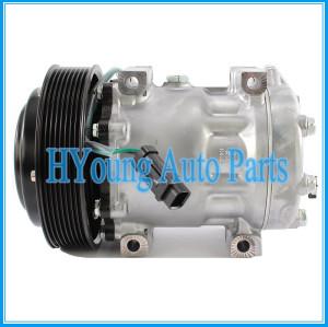 Factory direct sale auto parts A/C Compressor 7H15-6173 for Caterpillar 372-9360 461-2805 8pk