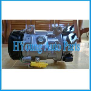 SD7C16 1322F 6453ZT 6453ZS auto ac compressor for PEUGEOT 308 407 508 3008 5008 Citroen C4 C5 9671451380 9684141780