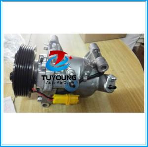 auto ac compressor for Peugeot 301 1.6L Citroen C-Elysee 2012-2015 9676011680 9806599380 JSR11T602078