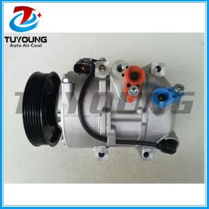 Factory direct sale auto a/c compressor DVE18 for KIA Sorento 2.4 1F3BE06400 977012P400 97701-2P400