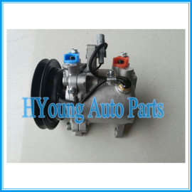 SV07E 120mm 12V 1PK air conditioning compressor for Daihatsu Kubota 447220-6771 447220-6750 4472206771 3C581-97590 L150SGPVF