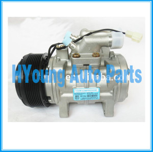 auto air conditioning compressor Fit JOHN DEERE New Holland Valtra T-180 Trator denso 10P15 air pump 130mm 8pk 24v