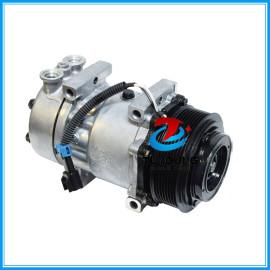 Compresor de aire acondicionado Kenworth Direct Mount CO4081C / MEI #5406 8PK 125mm Head GSA