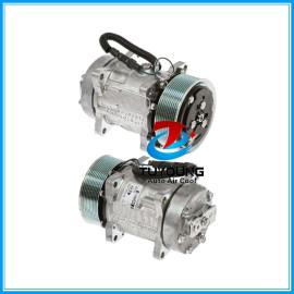 Sanden 7H15HD FLX7 SD 709 SD 4872 N83304054 AC Compressor for Heavy Duty Semi Truck CO 4872C 68165 304054