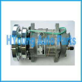 Caterpillar Compressor Sanden SD7H15 24V 1GA 138mm sanden 4604 U4604 8064 4656 4468 7984 Caterpillar compressor 3E-1906 101-1759