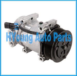 Compressor air pump SD7H15 SANDEN 4042 4759 4432 5365 Kenworth Peterbilt F69-1003 F69-6001-111 F691003 F696001111 F696002111 119mm 8pk 12v