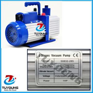 car air conditioning vacuum pump, 110V / 220V power supply vacuum pump for air conditioning, 400x160x300 mm, 19 kg