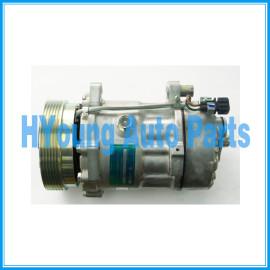 Sanden 1100 1162 1170 Compressor air pump SD7V16 SANDEN 7V16 fit Volkswagen Golf Vento Passat B5 Seat Cordoba Audi A4 B6 2001-2005