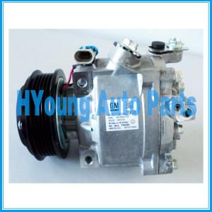 QS90 auto compressor de ar condicionado para Chevrolet Spin/Ônix/ Novo Prisma- 2014 GM compressor oem 52067908 akt200a4158 5206 7908 5pk 12v