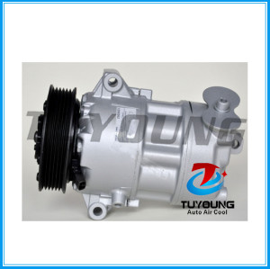 CVC auto air conditioning compressor for Fiat 500L 1.6 D MultiJet 2012 - 01141147 51890247 52003014
