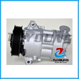 CVC auto air conditioning compressor for Fiat 500L 1.6 D MultiJet 2012 - 01141147 51890247 52003014