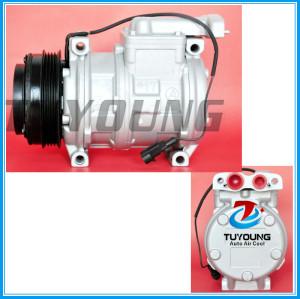 10PA17C auto ac compressor Iveco EuroStar EuroTrakker Eurotech Stralis 4 Seasons 97302 98302 99488569 500341617 500391499 504305146 447170-5430