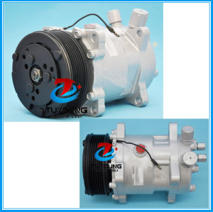 Sanden 5h14 508 SD 9537 Car ac compressor fit Volvo Kenworth Peterbilt Freightliner 4 seasons 57589 58589 ABPN83304152 20-10107 1401015 CO 9537C