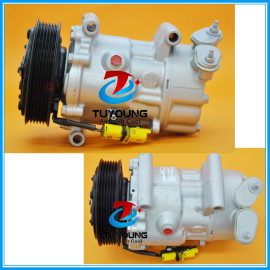 Sanden 6V12 1926 6453QG 6453QH 6453XJ auto ac compressor fit Fiat Qubo Citroen C2 C3 Peugeot 206 1007 9671456680 9800821980