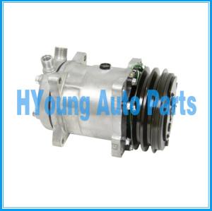 A/C Compressor for SD5H14 HD 6665 VOR 132mm 2A 24V 4506, 4507, 4652, 5407, 6627, 6665 AT262559
