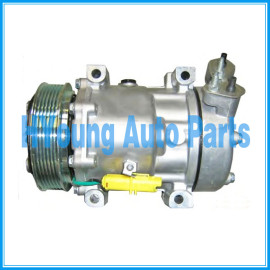 Factory direct sale SD7V16 ac compressor for Citroen C5/xsara Peugeot 406/Fiat scudo 9659232180 96860618 6453YJ 6453NL