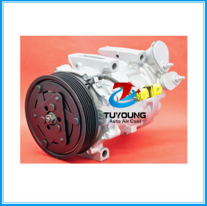 SD7C16 auto ac compressor for Citroen C5 Peugeot 407 2.0 HDi  1301F 6453PP 6453RE 9648138980