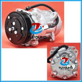 SD7V16 Auto ac compressor fit Fiat Peugeot Citroen Xsara Break Lancia Zeta 9613260680 9640486480 6453FE 6453GA 6453L5 6453.TJ 6453.TK