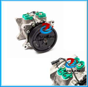 Sanden 5H14 compressor de ar condicionado automatico UNIVERSAL 8 ORELHAS 12V 6PK