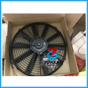 14 inch automotive electric fan motor fit truck vehicle 24V