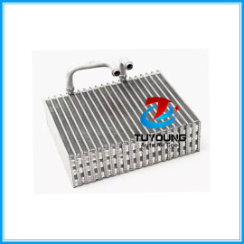 VW GOL G2 E G3 E G4 Car AC Evaporator EV015700 010044075 size 250*204*74 mm rectangular with 2 TUBES