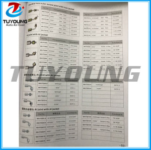 Auto ac system of pipe coupling series Al joint with iron cap & Quick joint with iron jacket