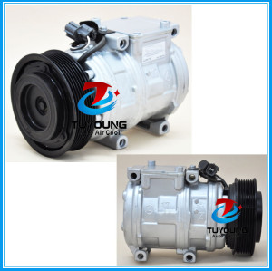 10PA17C Land Rover Discovery Range Rover 4.4 4.6 4.8 auto air compressor 471-1360 CO 11120C 14-0227c CO 11120RW 7512351 4 SEASONS 98334 97334