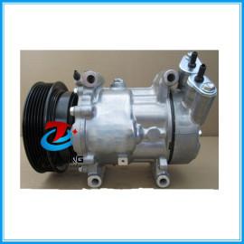 air pump Compressor Sanden SD6V12 for Nissan Micra Renault Clio Kangoo Megane 8200600122 8200953359 8200365787 2763000Q1M 763000QAP 92600AZ74A