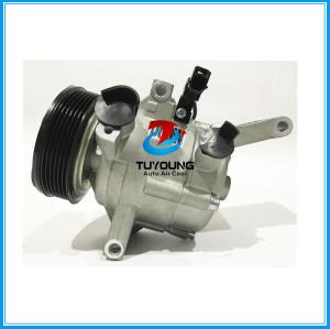 Automotive air conditioning compressor for Mazda 2 3DM with 3 bolt 6PK 12V