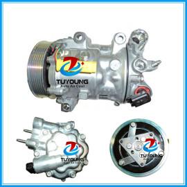 6V12 7V16 7C16 car ac compressor for CITROEN C5 C6 PEUGEOT 407 508 607 1807 1803F 1849 1333F 6453TA 6453XE 9800840380 9655229080