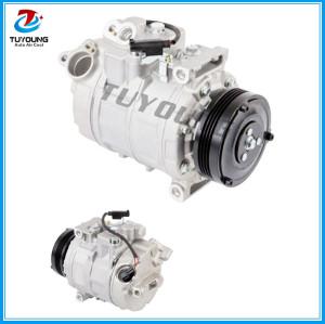 7SEU16C auto ac compressor for BMW E60 E61 E65 525 530 2004 2005 64526950152 64522147457 9744728-937 4471500970 4471500990
