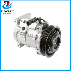 10S17C auto ac compressor for CHRYSLER JEEP WRANGLER 2.4L MC447220-4253 447220-4253 447220-4250 55037578AC RL037578AC