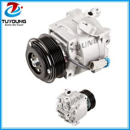 QS90 Auto ac compressor for Chevrolet Sonic 1.8L 97496 1522300 95059818  AKT200A408  AKT200A415 1522385